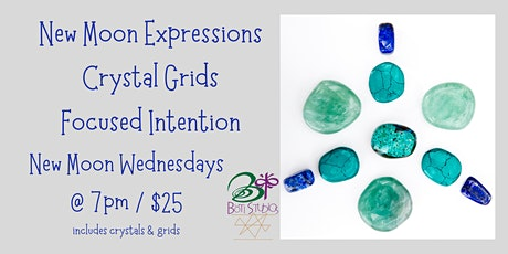 New Moon Expressions - Crystal Grids - Focused Intention tickets