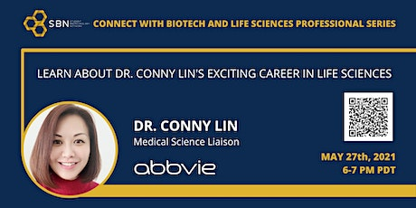 Connect with Biotech and Life Sciences Professional Series: Conny Lin tickets