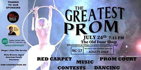 Adult Prom --- The Greatest Prom tickets