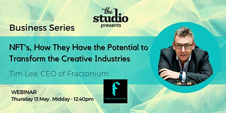 Tim Lea, Founder and CEO of Fractonium tickets