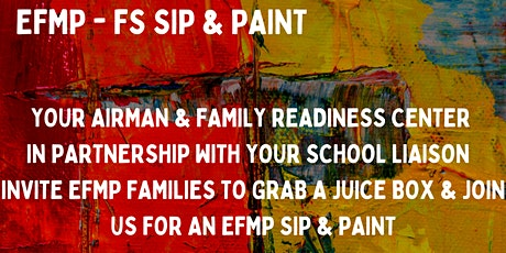EFMP-FS Sip & Paint tickets