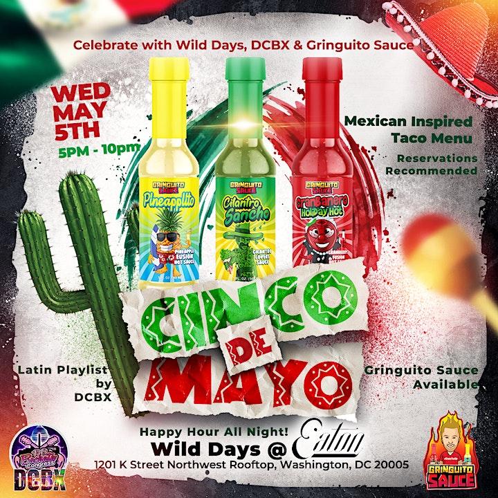 Cinco De Mayo Happy Hour Wild Days Eaton Hotel image