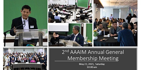 2021 Annual General Meeting of the Alumni Association of AIM, Inc. (AAAIM) tickets