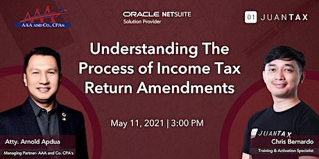 Understanding The Process of Income Tax Return Amendments tickets