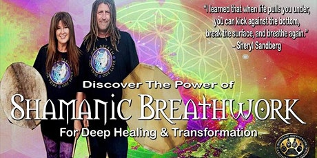 Copy of SHAMANIC BREATHWORK-For deep healing and transformation tickets
