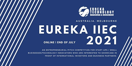 2021 Eureka International Innovation & Entrepreneurship Competition biglietti