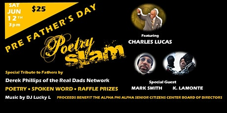 Pre Father's Day Poetry Slam tickets