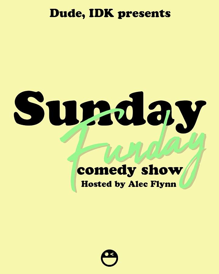 Sunday Funday Comedy Show image