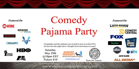 Pajama Party - May 29th tickets