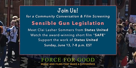 Force For Good - Sensible Gun Legislation tickets