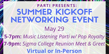 Music Listening event and business mixer tickets