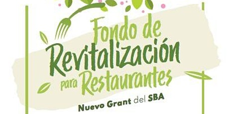 Fondo de revitalización para restaurantes tickets