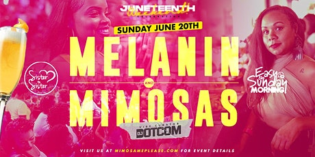 Melanin & Mimosas Brunch/Day Party tickets