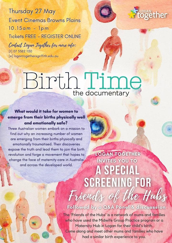 Birth Time Screening - 27 May image