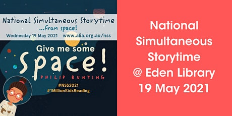 National Simultaneous Storytime @ Eden library tickets