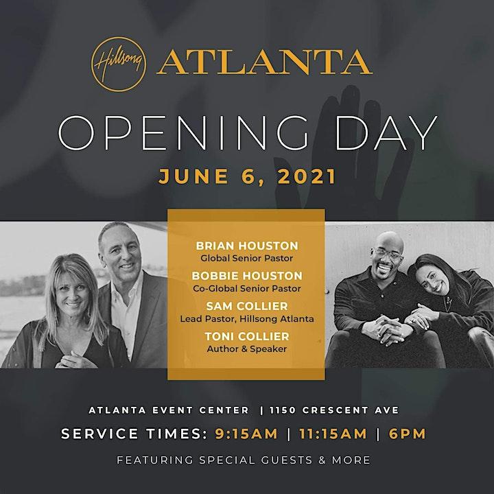 Hillsong Atlanta Opening Day (3rd Service) image