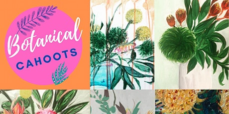 Mother's Day Voucher Floral Paint & Sip tickets