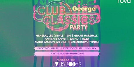 GEORGE CLUB CLASSICS tickets
