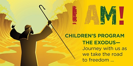 I AM...The Exodus (A Cultural Heritage Experience for Kids) tickets