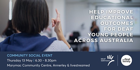 Improving Education Outcomes for Deaf Young People tickets