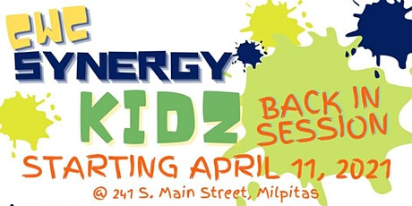 Synergy Toddlers (9:30AM) Service (Ages 3 - Kindergartner's) tickets
