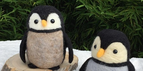 Needle Felted Penguin Workshop tickets