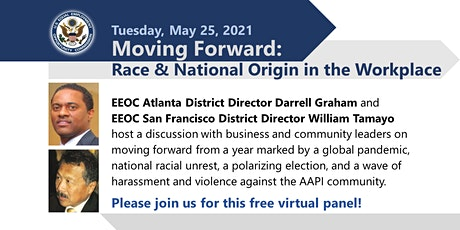 Moving Forward: Race and National Origin in the Workplace Tickets