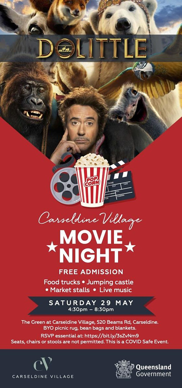 Movie Night @ The Green, Carseldine Village image
