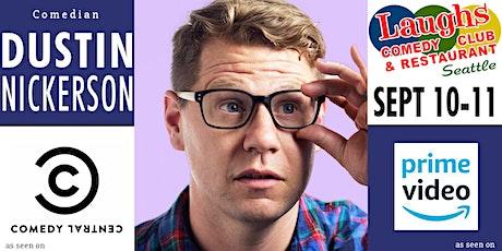 Comedian Dustin Nickerson tickets