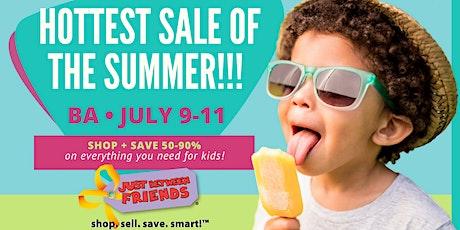 FREE ADMISSION-JBF BA July 9-11(All Season Sale) tickets