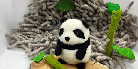 Needle Felted Panda Bear Workshop tickets