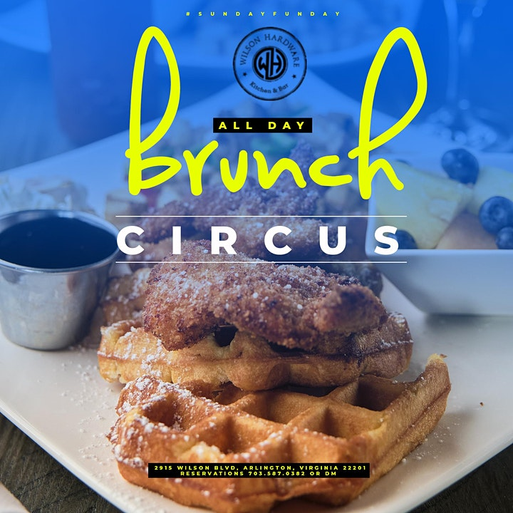 Sunday Funday The Circus Brunch + Day Party image