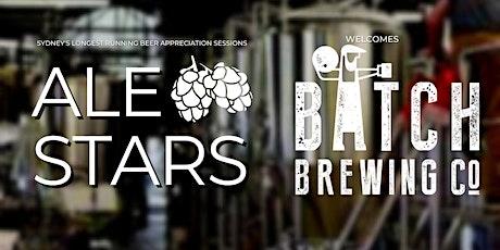 Ale Stars #138 Batch Brewing Co. tickets