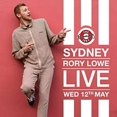 Rory Lowe - Sydney tickets
