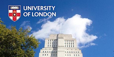 University of London Worldwide- Global MBA -Guest Speaker Series tickets
