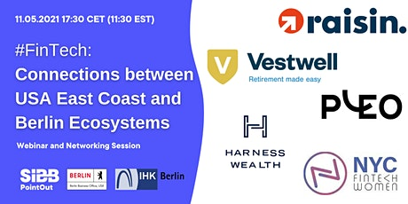 #FinTech: Connections between USA East Coast and Berlin Ecosystems tickets