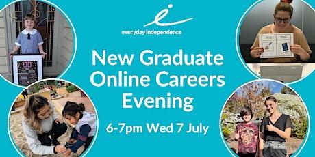 Everyday Independence Online Graduate Careers Evening - Regional Victoria tickets