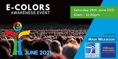 E-Colors Awareness Online Event Tickets