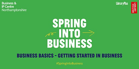 Business Basics - Getting Started in Business tickets