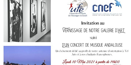 Vernissage Galerie d'Art + Concert de Musique Andalouse tickets