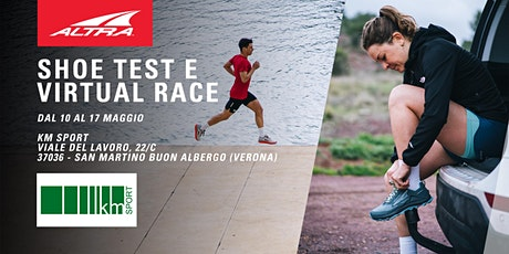 Altra Footwear Test e Virtual Race - KM Sport biglietti