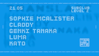 Translate presents B-Side with Sophie McAlister and Claddy tickets