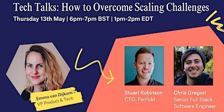 Multiverse Tech Talks: Overcoming Scaling Challenges tickets