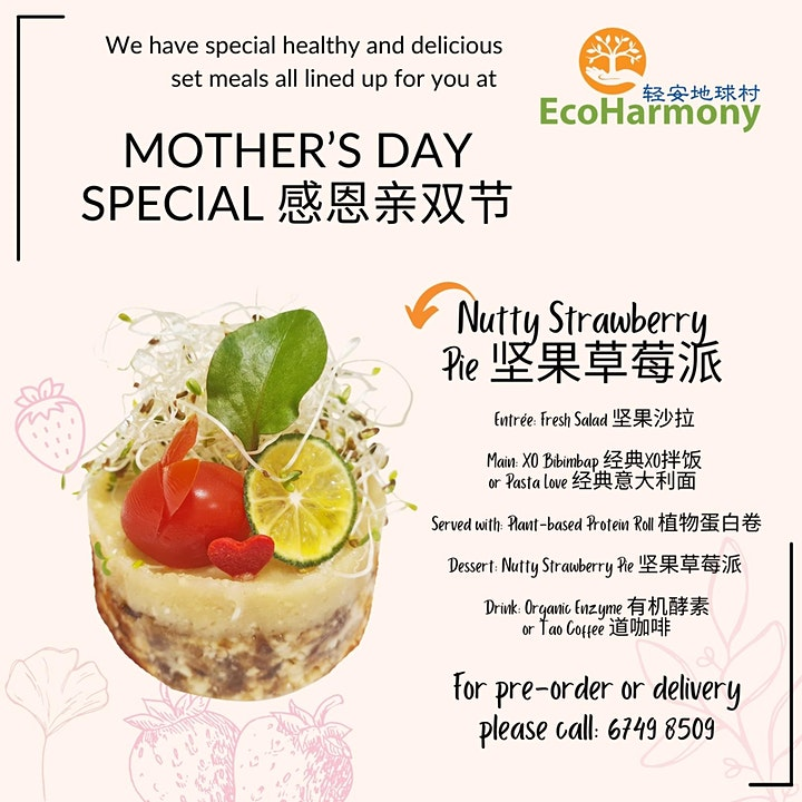 Mother's Day Special Meal Takeaway image