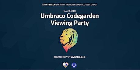 Umbraco Codegarden 2021 - Dutch Watch Party tickets