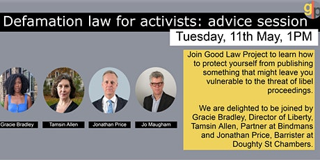 Defamation law for activists: a guide to speaking truth to power tickets
