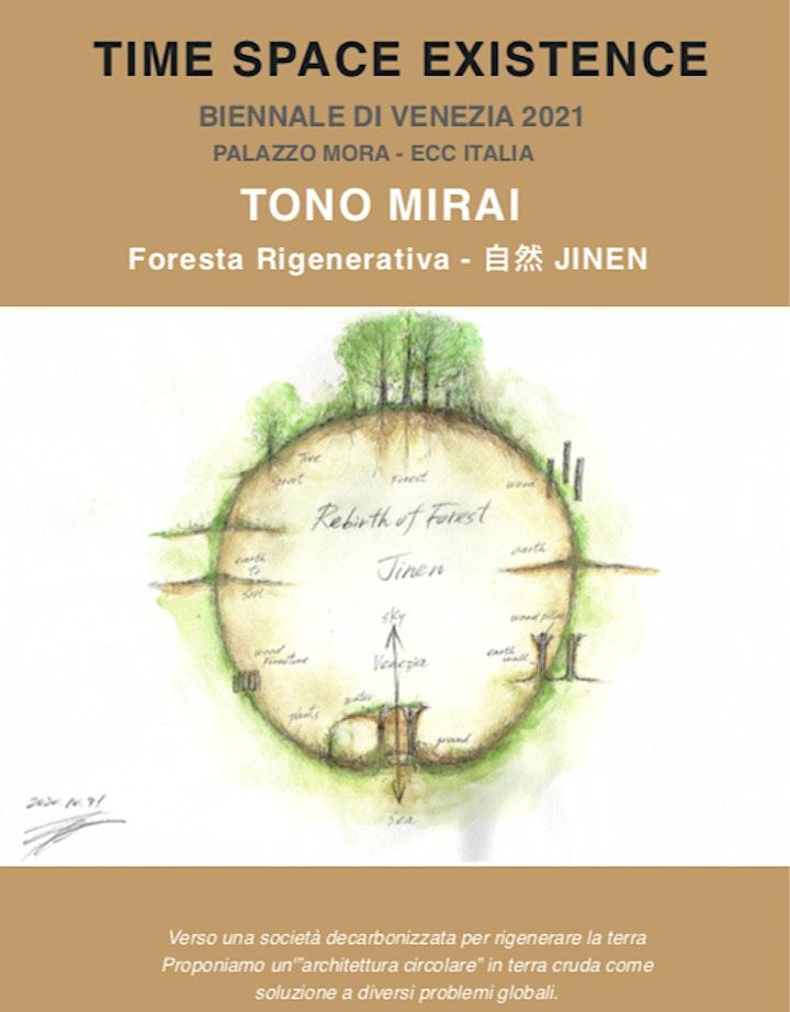 JOTOSAI Ritual for 'JINEN' (自然) Exhibition at ECC Venezia biennale 2021 image
