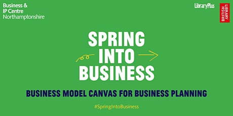 Business Model Canvas for Business Planning tickets