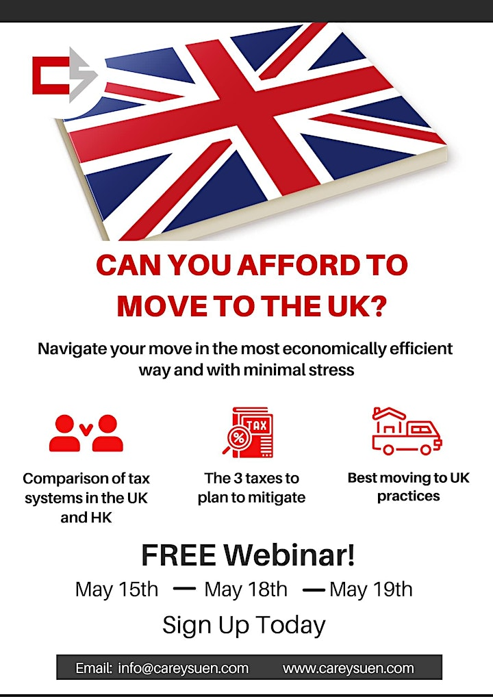 Webinar - Moving Tax-Efficiently to the UK image