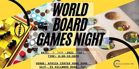 World Board Games Night tickets
